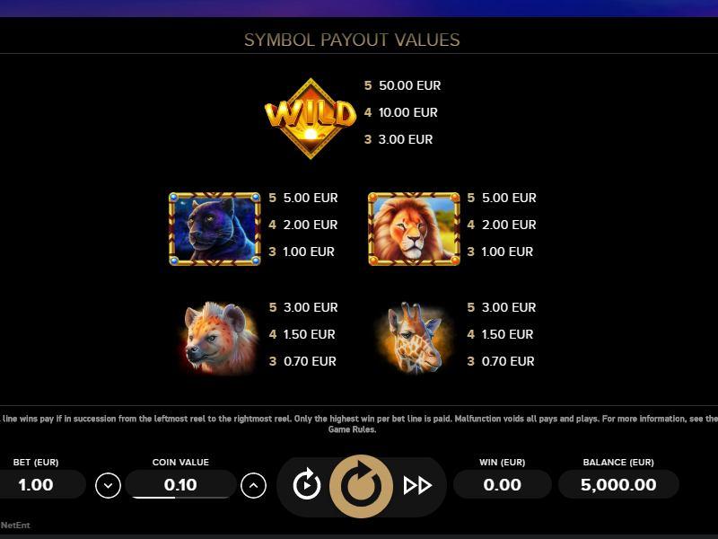 Бесплатно serengeti kings короли серенгети игровой автомат